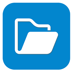 ES file explorer logo
