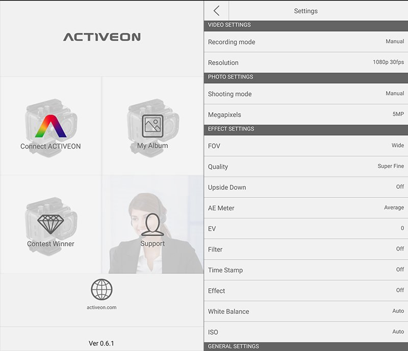 ACTIVEON Android App